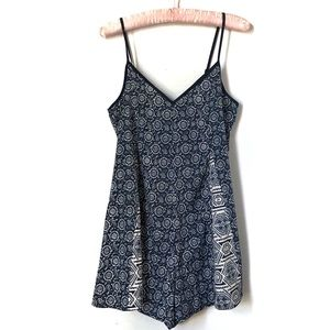 Urban Outfitters | Patterned Romper